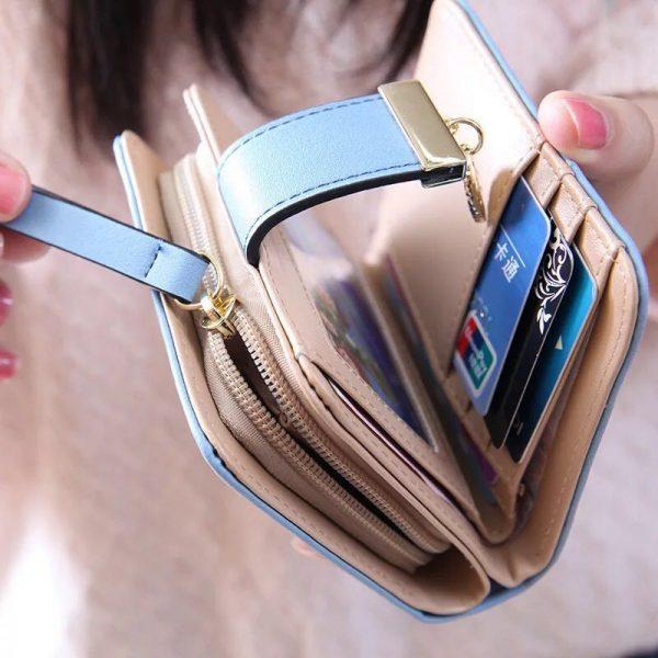 Designer Famous Brand Luxury Women s Wallet Purse Female Small wallet perse Portomonee portfolio lady