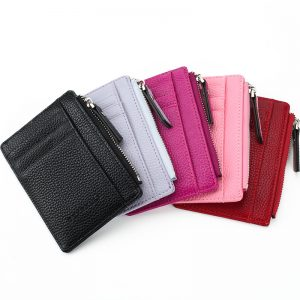 Unisex PU Leather Slim Card Holder