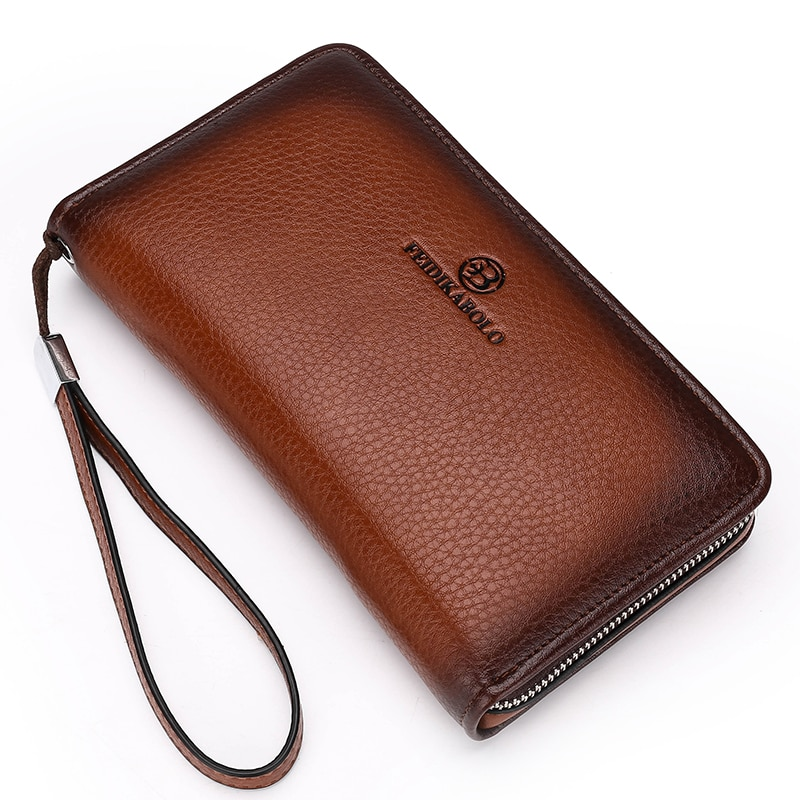 c37df946fa Luxury Men s Leather Clutch Wallet and Handy Bag