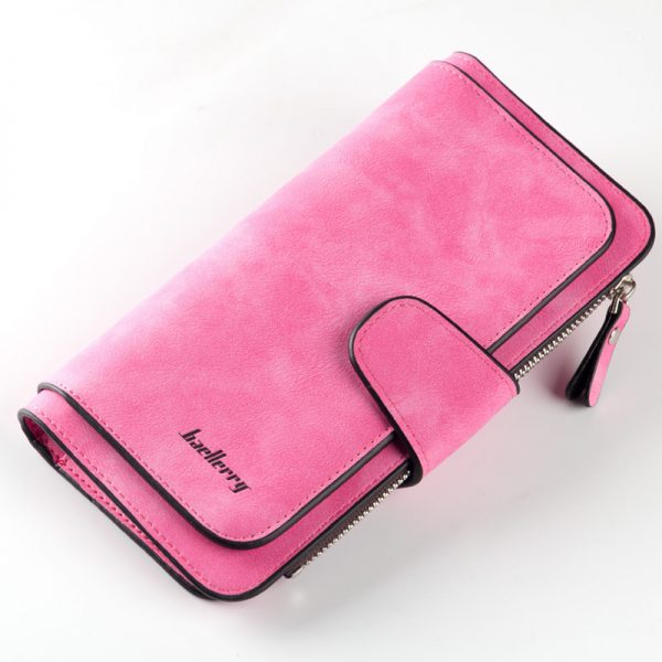 New Brand Leather Women Wallet High Quality Design Hasp Card Bags Long Female Purse