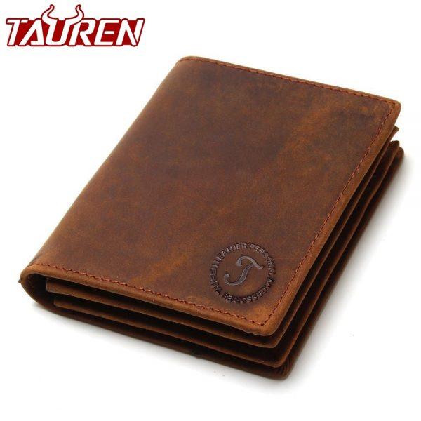 multi-functional cowhide wallet