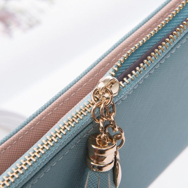 Wallet Female For Coins Cute Wallet Women Long Leather Women Wallets Zipper Purses Portefeuille Wallet