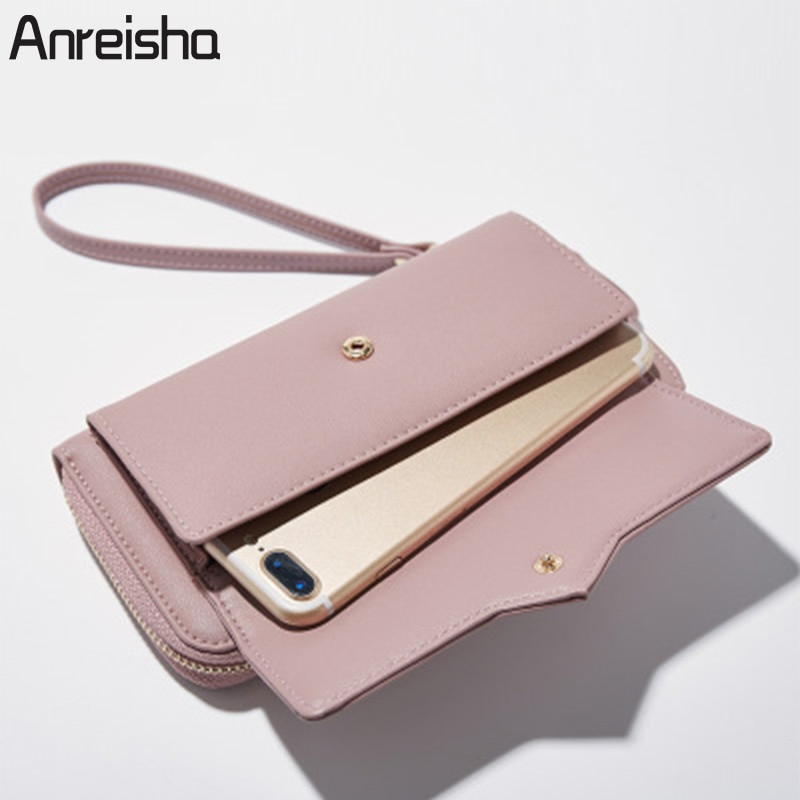 2247eec08d1 Home · Products; Anreisha's Latest Fashion PU Leather Designer Long Clutch  Wallet for Women. Sale! 🔍. Clutch Wallet for Women