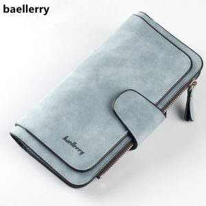 Leather Women's Long Wallet