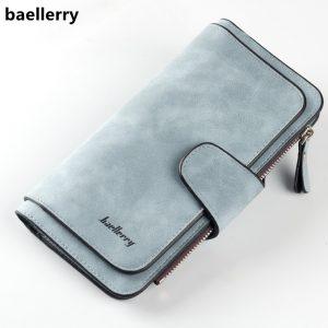 Leather Women's Long Wallet