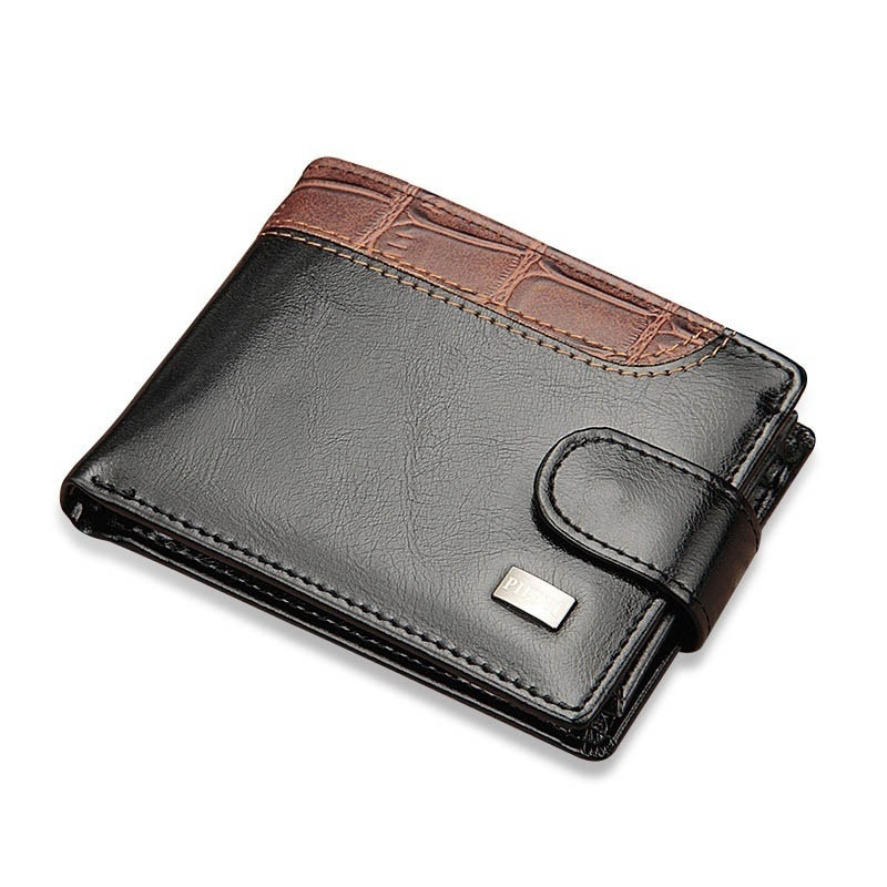 047eddbe40404 ... Baellerry Vintage Leather Hasp Men s Small Wallet and Coin Purse. Sale!  🔍. men s small wallet