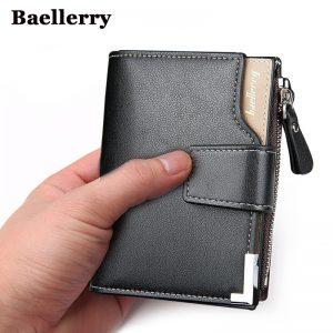 Baellerry men's leather clutch wallet