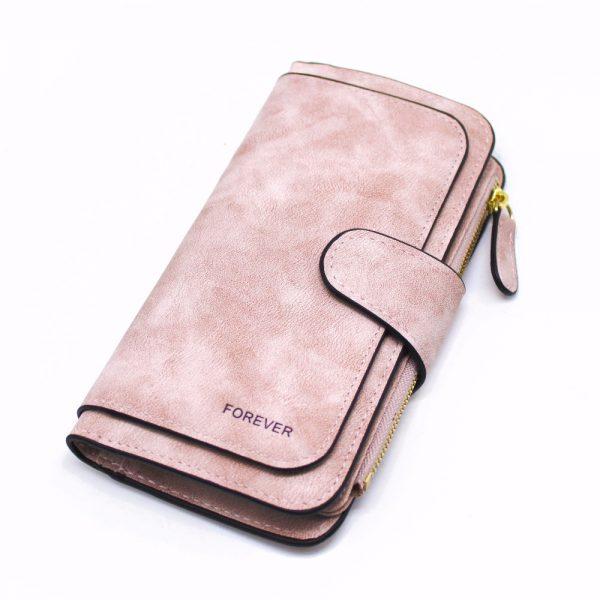 Brand Leather Women Wallets High Quality Designer Zipper Long Wallet Women Card Holder Ladies Purse Money
