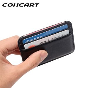 Genuine Leather Mini Wallet