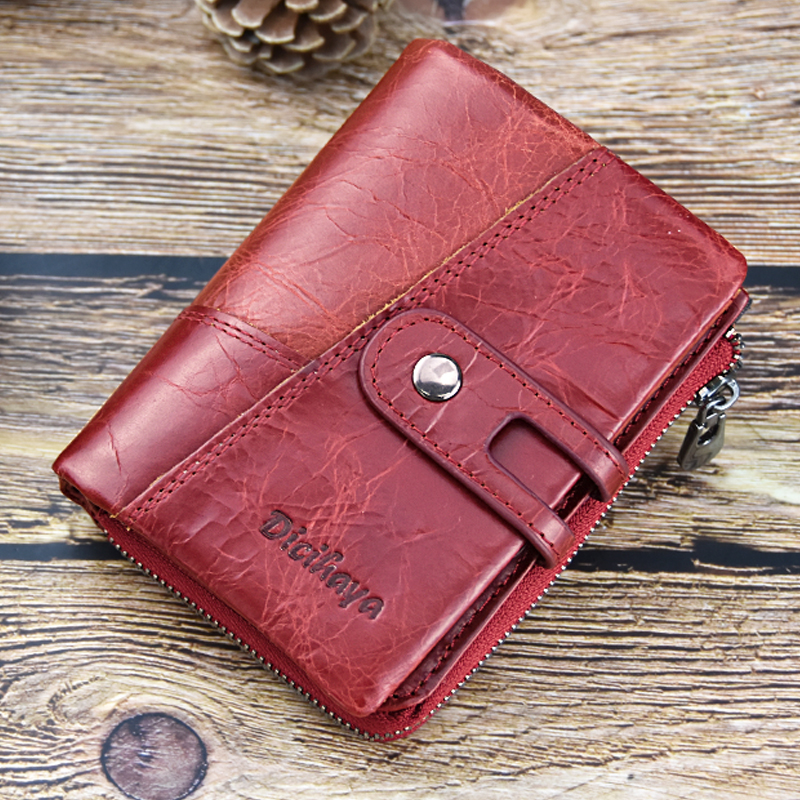 2d4a0dc35c9 Dicihaya's Small and Genuine Leather Women's Wallet and Credit Card Holder