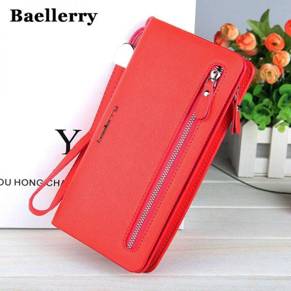Multi-Functional Long Zipper Wallet