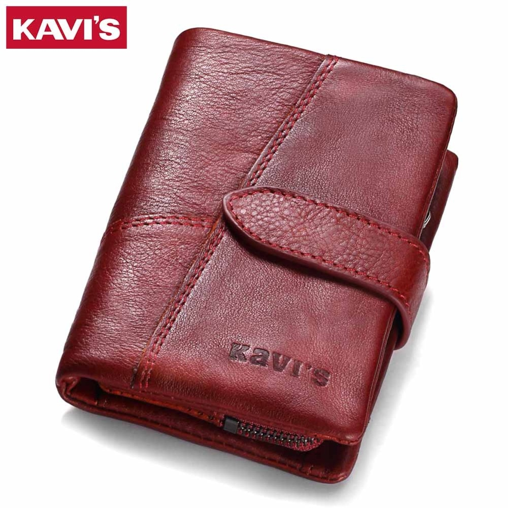 87186ebb58f2 Genuine Leather Women s Wallet and Coin Purse with RFID Protector