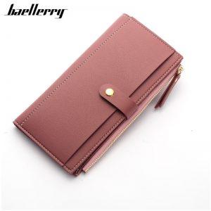 Women's Leather Long Wallet