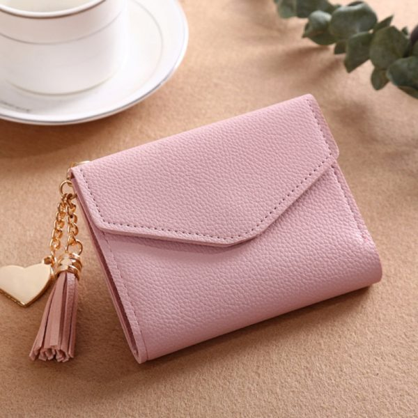 Long Wallet Women Purses Tassel Fashion Coin Purse Card Holder Wallets Female High Quality Clutch Money
