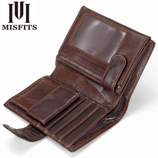 misfits cowhide wallet