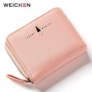 Ladies Short Zipper Purse