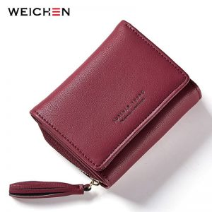 Luxury Tri-Fold Women's Wallet