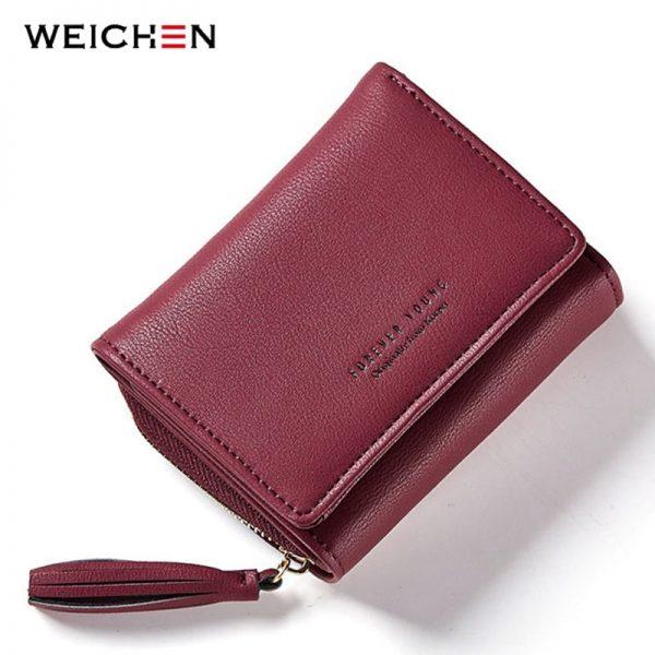 Luxury Tri-Fold Women's Wallet