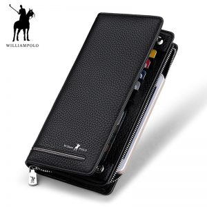 long clutch business wallet