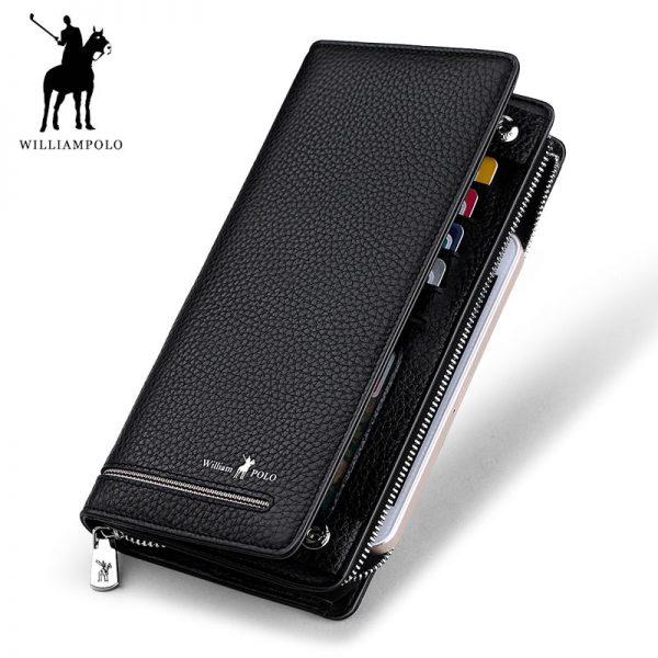long clutch business wallet