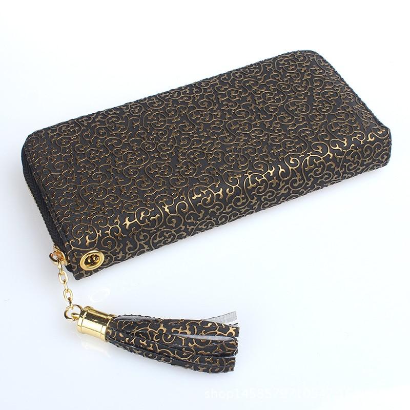 f67836c753a New Totems Print Tassel Handbag Wallet for Women   Women's Wallets