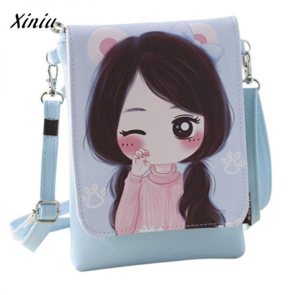 xiniu Shoulder Bags kid s Cartoon Kids Girls Mini Crossbody Bag wallets for girls children s