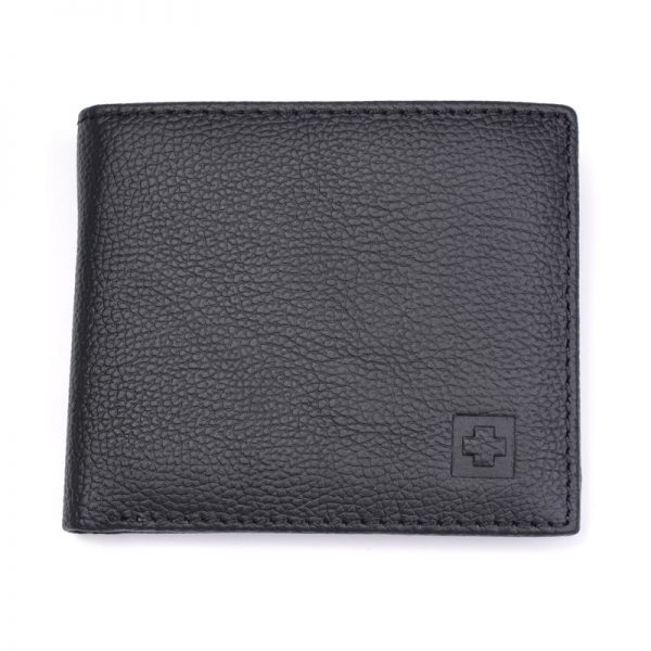 Genuine Leather Wallet Men New Brand Purses for men Black Brown Bifold Wallet RFID Blocking