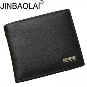 genuine leather mens wallet premium product real cowhide wallets for man short black walet portefeuille