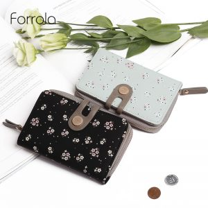 Fashion Women Wallet Female Leather Portable Multifunction Floral Wallets Hot Change Lady Coin Purses Card