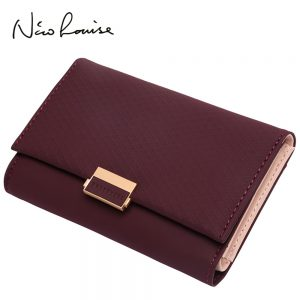 Plaid Wallet Leather Wallet Zipper Female Ladies Hot Change Women Luxury Credit Card Holder Coin