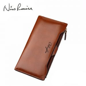 new leather Women Wallet Portable Multifunction Long Wallets hot female Change Purse lady coin purses