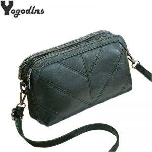 High Quality Women Handbag Luxury Messenger Bag Soft pu Leather Shoulder Bag Fashion Ladies Crossbody