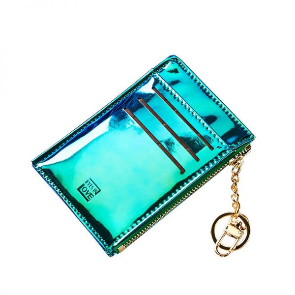 New Coin Purse Fashion Solid Color Key Card Multifunction Mini Wallet Women Clutch Pillow Designer