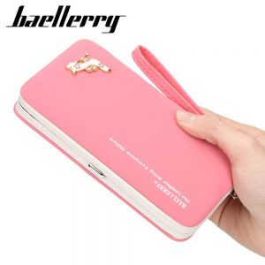 Purse Women s Wallet Female Famous Brand Card Holders Cellphone Pocket PU Leather Women Money