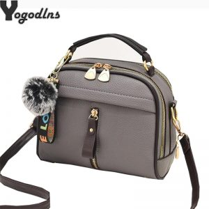 Women Shoulder Bags Crossbody Bag For Women Handbag PU Leather Full Moon Candy Color Cute