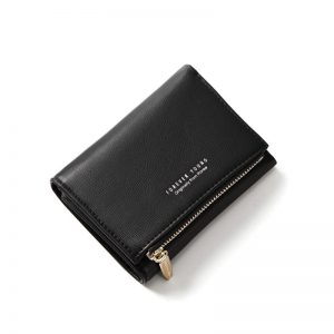 Women Wallets with Individual ID Card Holder Zipper Coin Pocket Ladies Small Purses Female Wallet