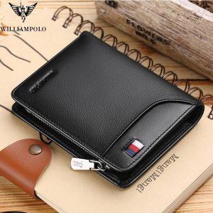 Casual Zipper Wallets for Men