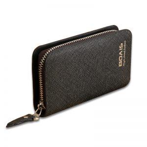Business Housekeeper Keys Holder Car Key Wallet Keysmart Leather Wallet Keychain Key Pouch Housekeeper Leather Keys