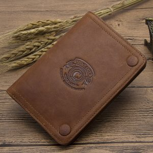 CONTACT S Men Wallets Brand Design Crazy Horse Genuine Leather Male Short Wallet Hasp Man s