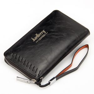 Zipper Wallet with Clutch