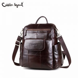 Leather Retro Style Backpacks