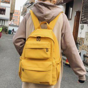 Teenage Girl's Nylon Backpacks