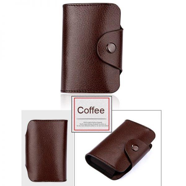 DIENQI retro genuine leather money clips wallet cardholder dollar money holder designer new men money bag