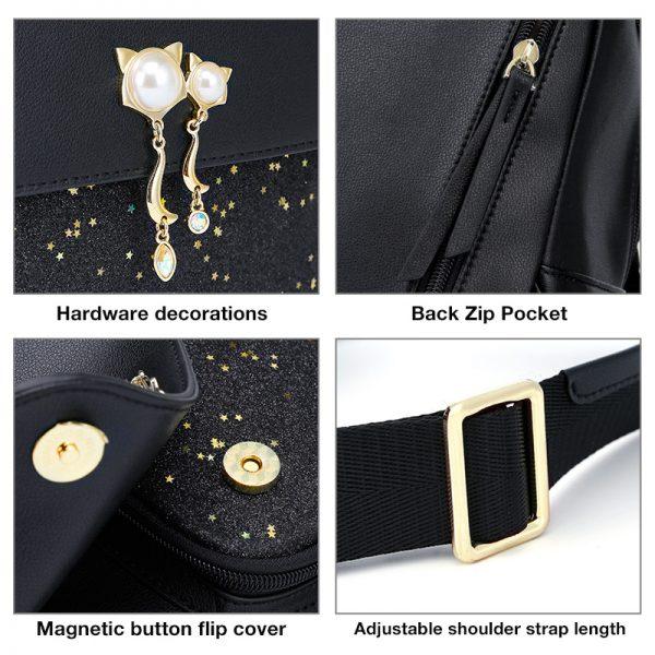 FOXER Brand Women Patchwork Zipper Large Capacity Backpack New Design Female College Bags Teenage Girls School