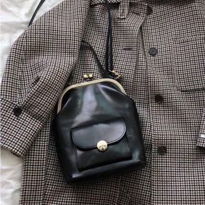 Fashion Clip Women s Bag PU Leather Shoulder Crossbody bags Designer Brand Women Handbags Totes Clutch