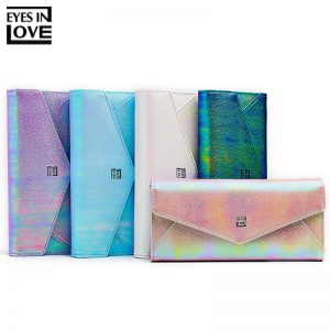 Fashion Glitter Colorful Women Long Wallet Clutch Many Departments Wallet Women Phone Pocket Card Holder Purse