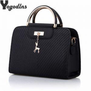 Fashion Handbag  New Women Leather Bag Large Capacity Shoulder Bags Casual Tote Simple Top handle