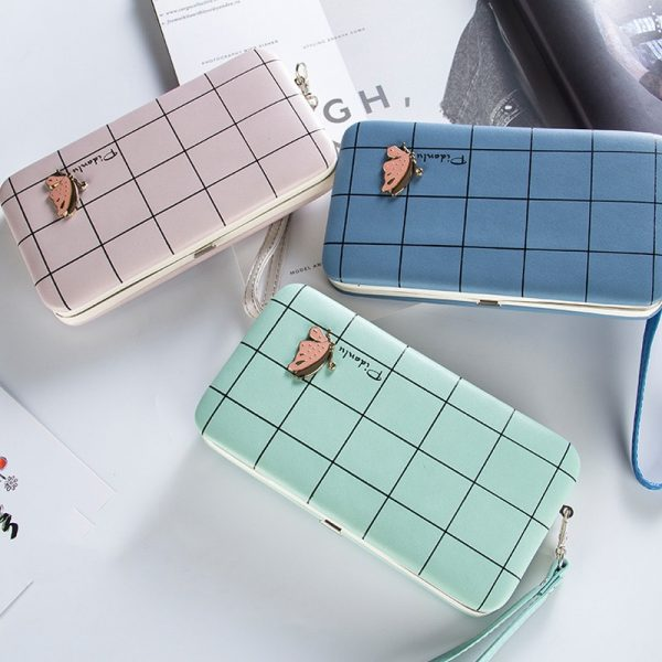 Fashion Long Wallets Women Hasp Wallet Female Phone Case Coin Pocket Luxury Wristlet Women s Purse