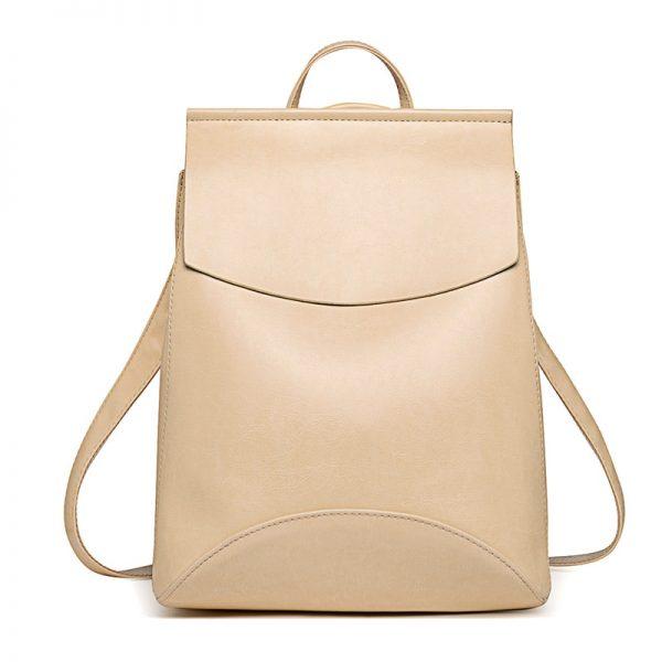 Fashion Women Backpack High Quality Youth Leather Backpacks for Teenage Girls Female School Shoulder Bag Bagpack