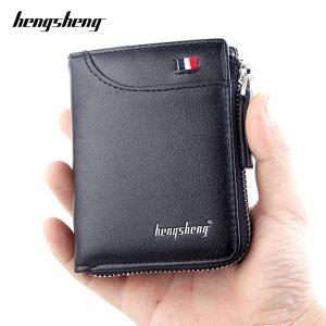 Short Zipper Wallets for Men